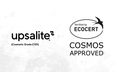 Upsalite (Cosmetic Grade C101) obtains raw material certification